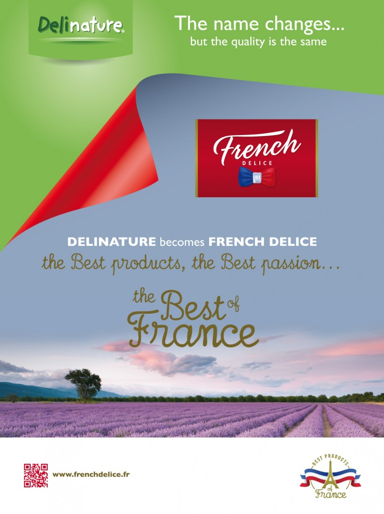 Delinature becomes French Delice